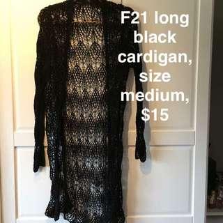 Webbed Pattern Cardigan