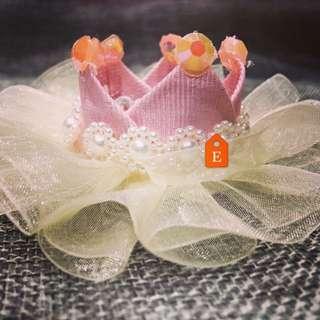 Handmade Pink Crown For Kid