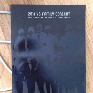 YG FAMILY CONCERT PHOTOBOOK 2011