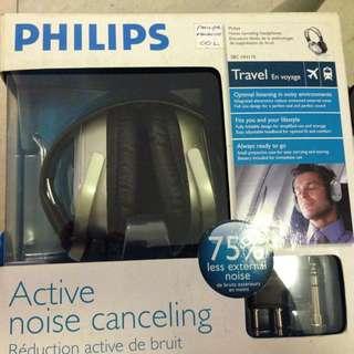 phillips noise cancelling earphone
