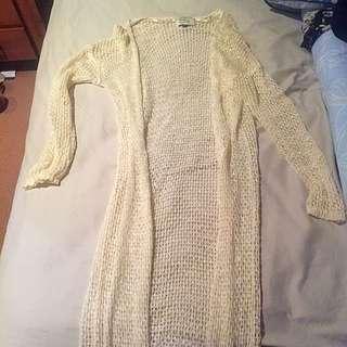 Loose Knit Full Length Cotton On Cardi