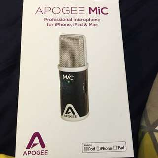 APOGEE MiC Professional Microphone For iPhone