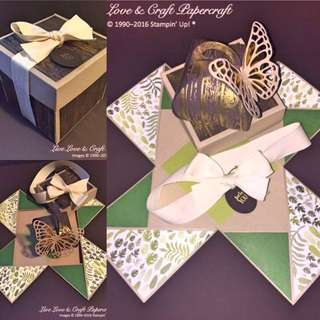Gold Embossed Explosion Gift Box