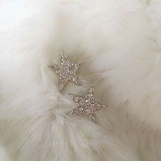 Swarovski Crystal Starburst Earrings