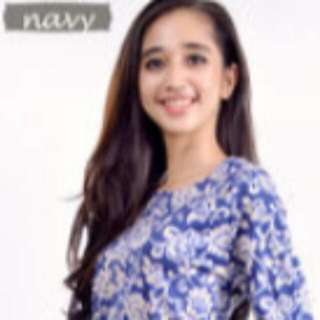 Batik Mermaid Mini Dress  Warna Navy(ready stok)M-L.bahan nya cotton jepang..adem/dingin di pakai