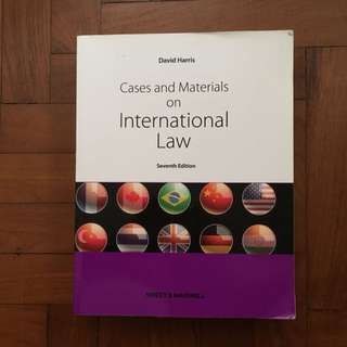 David Harris: Cases And Materials On International Law (7th Edn)