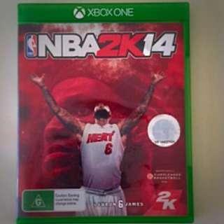 NBA2k14 XBOX ONE