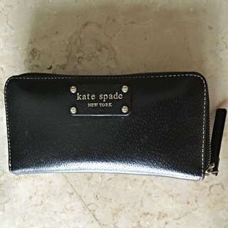 Kate Spade 100% authentic Wellesley Black Leather Wallet
