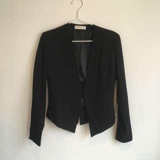 Black Blazer Size Small