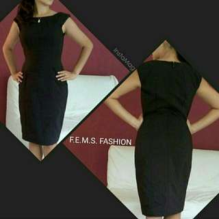 Spandex black dress (sisa export)