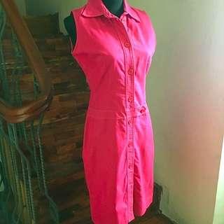 Kamiseta Red Casual Dress