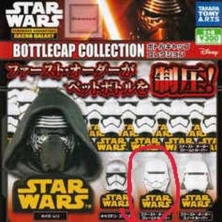 全新未拆!star wars 星際大戰 轉蛋扭蛋 瓶蓋 頭盔 公仔