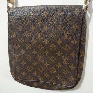 Lv Side Shoulder Bag