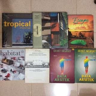 Architecture & Interior Book Compilations