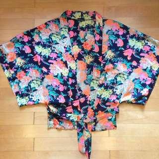 Bamboo Blonde Kimono Outer