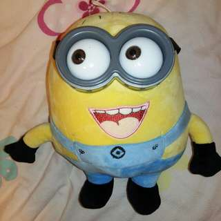 Minion Plushie from Morning Glory