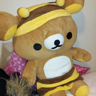 Rilakkuma Honey Bear Bumble Bee Plush