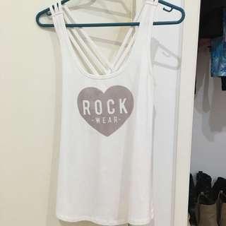 Rockwear Singlet Size 8