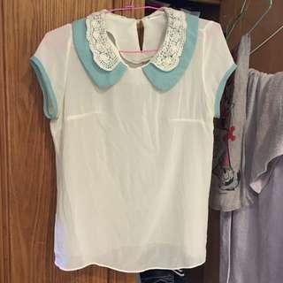 韓製雪紡衫