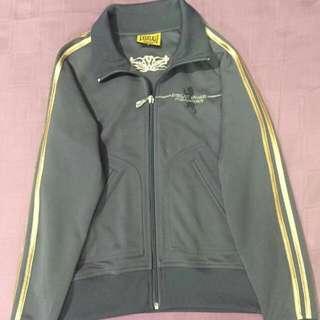 Everlast Zip Jacket Grey And Gold