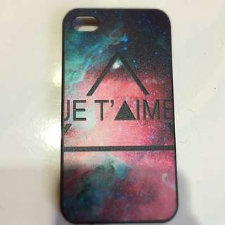 iPhone 4 Je T'aime Casing