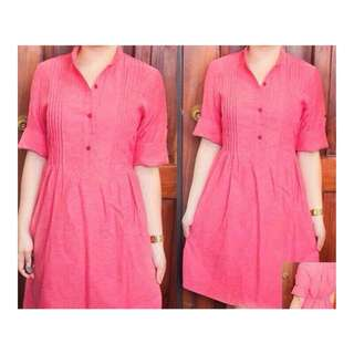 Garterized Polo Dress