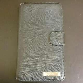 Samsung S2 皮革 手機套 Zenus 墨綠