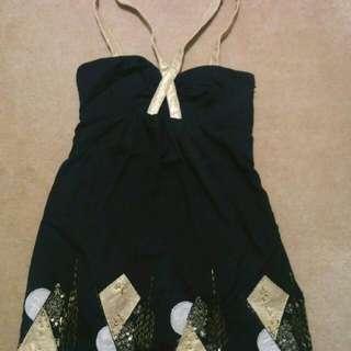 Ladakah Beaded Dress (Size 8)