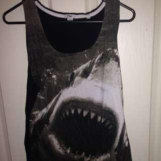 Shark Singlet T-Bar
