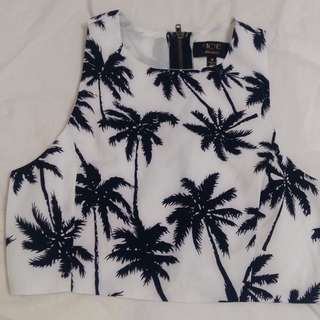 Tropical ICEdesign crop top