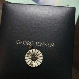 georg jensen喬治傑生 小雛菊項鍊墜子