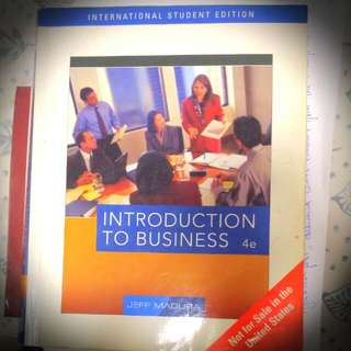Introduction To Business 4e Thomson