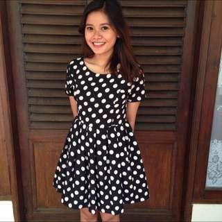 Mini Polka Dress