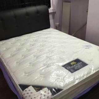 Bed Frame + Mattress.