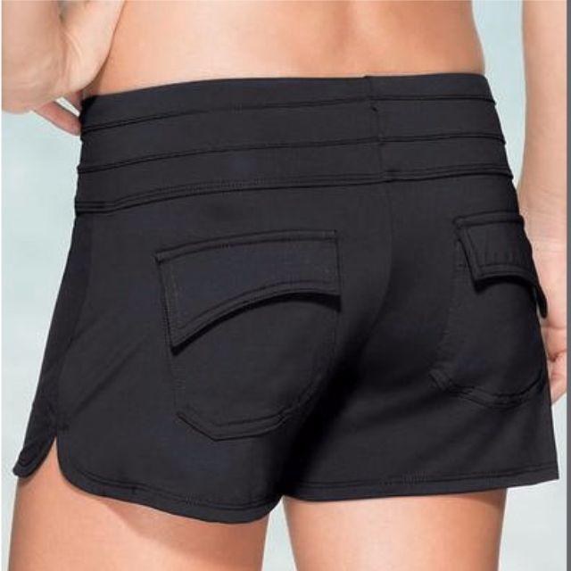 泳褲 / 溫泉褲內襯防走光、修身遮臀