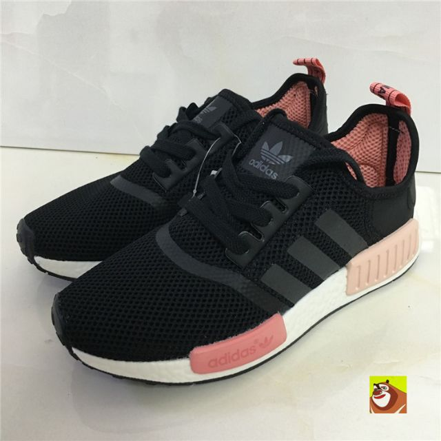 separation shoes 756cf 87f2a 全新Adidas NMD S75234 黑粉