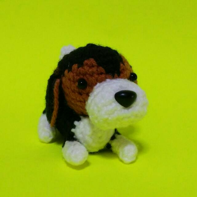 AMIGURUMI PATTERN/ tutorial (English) Amigurumi Beagle Dog ... | 640x640