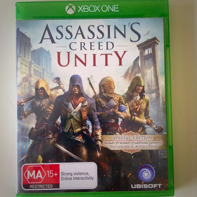 Assasins Creed Unity XBOX ONE