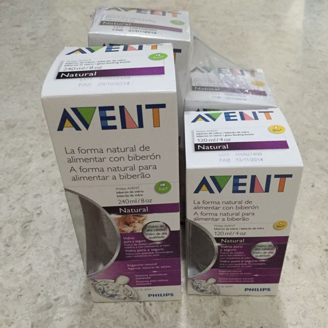 Avent Glass Bottles