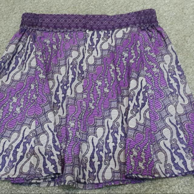 Batik A Line Skirt