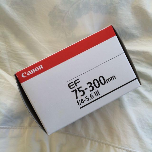 Canon EF75-300mm Lens