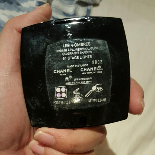 Chanel Quad Eye Shadows