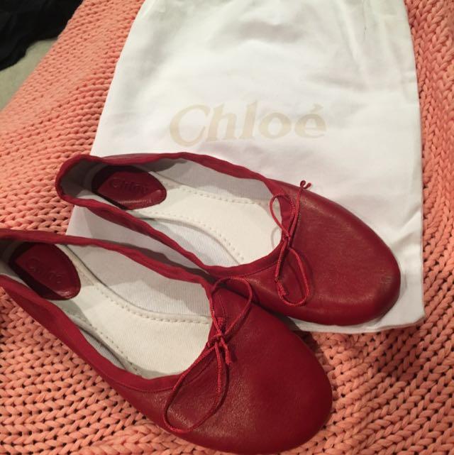 Chloe Ballet Slippers Size 38