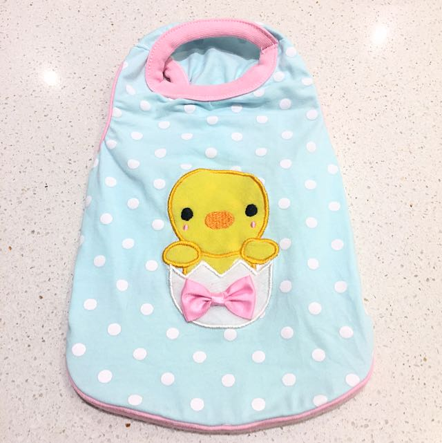 Ducky Polka Dot Pet Outfit