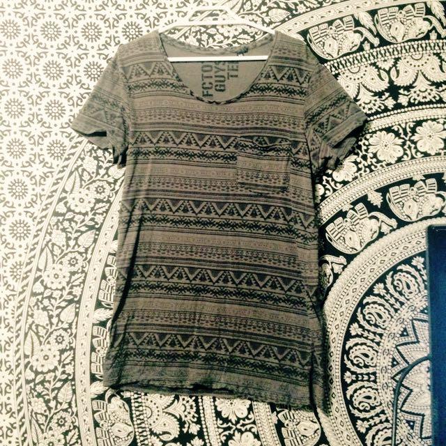 FACTORIE Patterned Men's Shirt Size XS