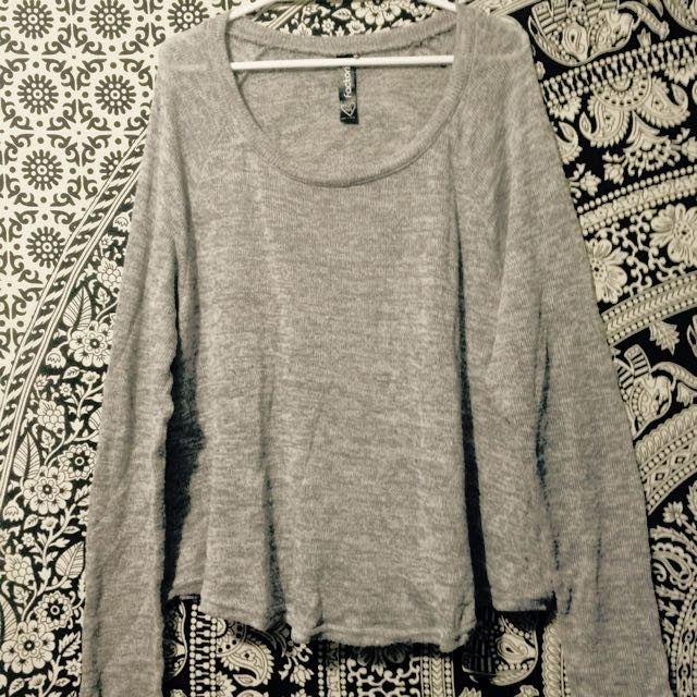 FACTORIE Throw Over Jumper Size M/L