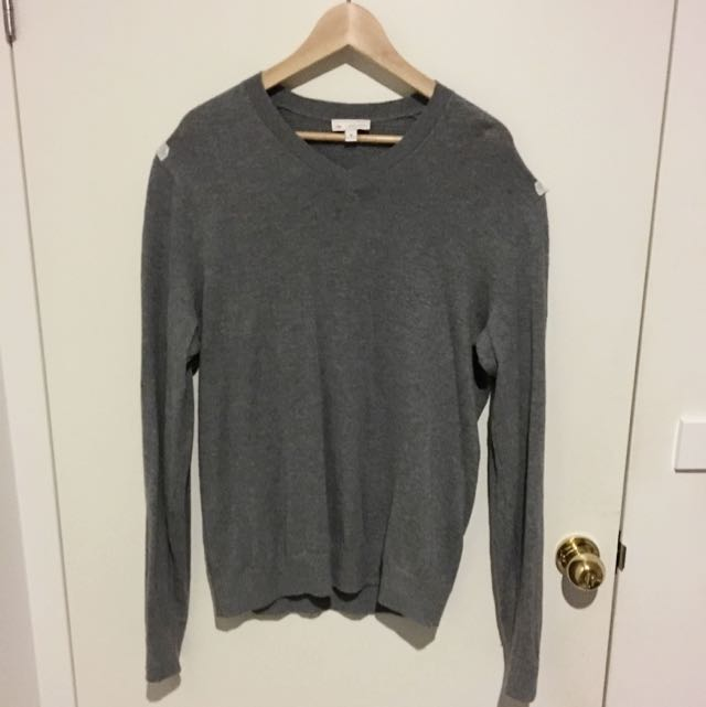 Gap Men's Grey Sweater/jumper