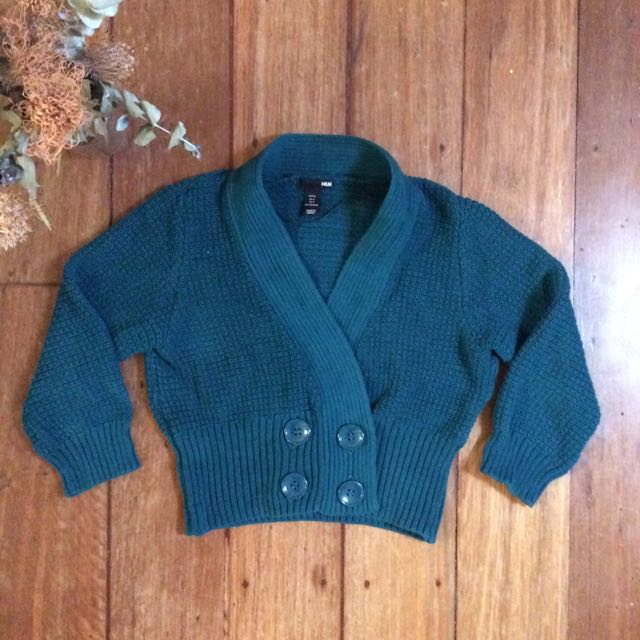 H&M Knit Crop Cardigan