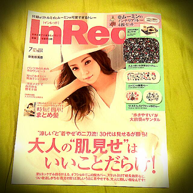 IN RED雜誌