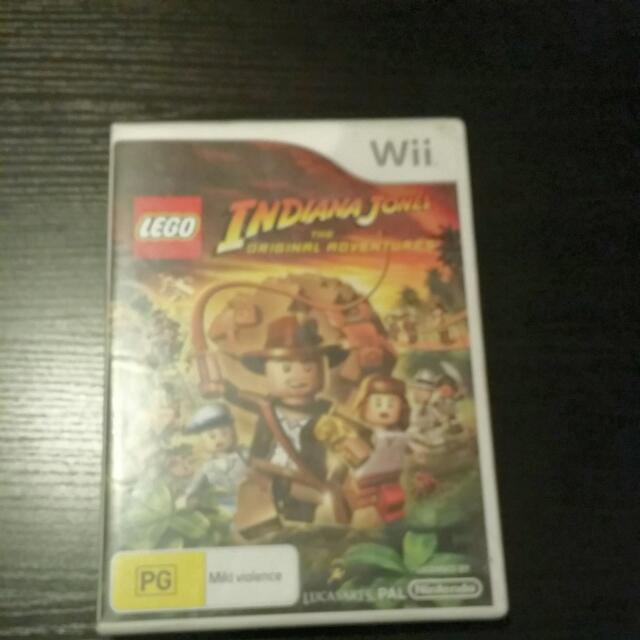 Indiana Jones lega For Wii